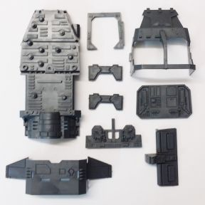 Space Marine Land Speeder Storm Chassis Section